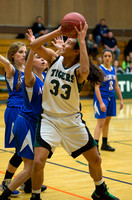 Girls' Basketball, Winter 2012-2013
