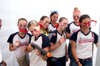All American Sports Academy in the photo booth