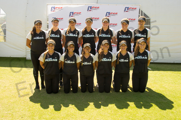 14U Platinum: So Cal Pumas White (Laughn Barth)