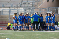 San Dimas huddle