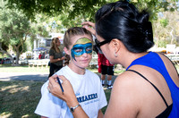 Face Painting: So Cal Breakers